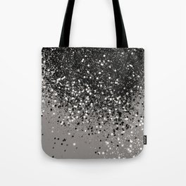 Silver Gray Glitter #1 #shiny #decor #art #society6 Tote Bag