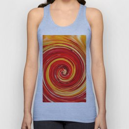 AUTUMN SWIRL Unisex Tank Top
