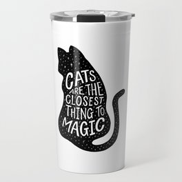 Cat Magic Travel Mug