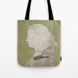 Anne Brontë Agnes Grey - Minimalist literary design Tote Bag