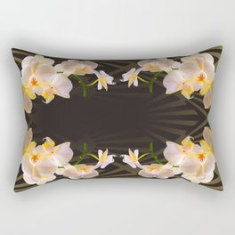 Orchid (tulips) from my terasse Rectangular Pillow