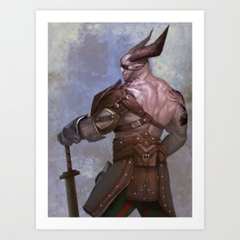 The Iron Bull (Dragon Age) Art Print