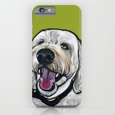 Kermit the labradoodle iPhone 6 Slim Case