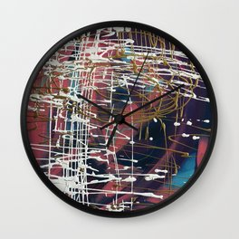 Cliff's Edge Wall Clock