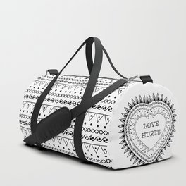 Love hurts Duffle Bag