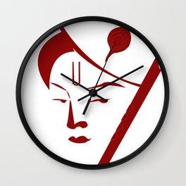 Lord Krishna Wall Clock