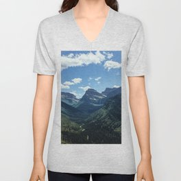 Glacier Valley Unisex V-Neck