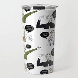 A Medley Print Travel Mug