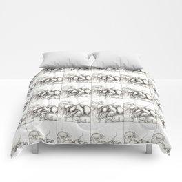 Rats Feeding on Milk Comforters