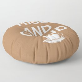 Rise and Grind Floor Pillow