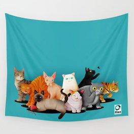 Gatos / Cats Wall Tapestry