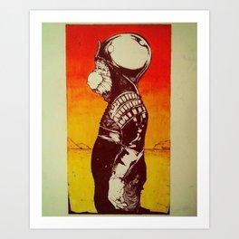 Ursus of the Apes Art Print