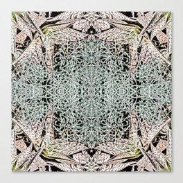 Cactus Tile Canvas Print
