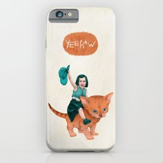 Kitty Cowgirl iPhone 6s Slim Case