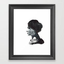 Cameo Framed Art Print
