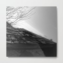 Barn Roof Metal Print