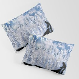Dogsledding Pillow Sham