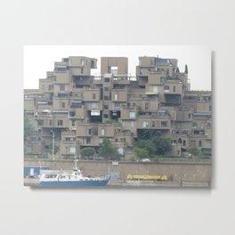 Habitat 67 Metal Print