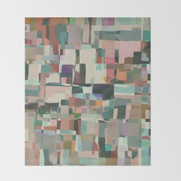 Abstract Painting No. 8 Throw Blanket