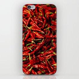 Chili in the Sun iPhone Skin