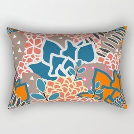 Succulents crowd Rectangular Pillow