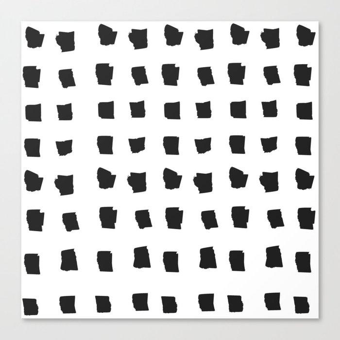 Coit Pattern 69 Canvas Print
