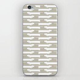 White Wiener iPhone Skin