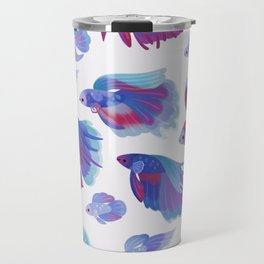 Blue Betta Travel Mug
