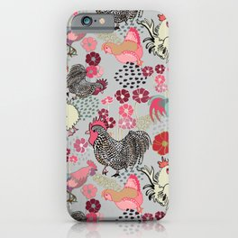 Rooster Toss iPhone Case