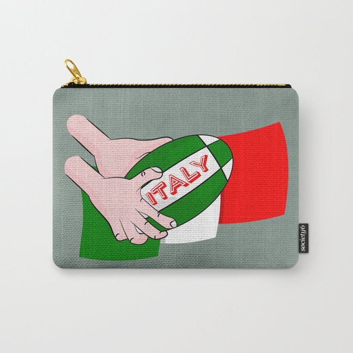 Rugby Italy Carry-All Pouch