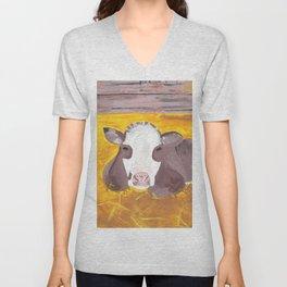 A Heifer Calf Named Darla Unisex V-Neck