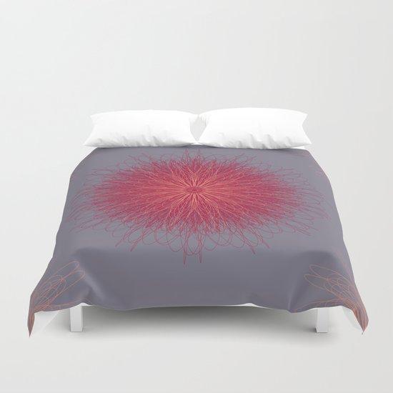 wings-flower Duvet Cover