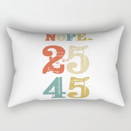 Support 25th Amendment Funny Anti Trump Vintage Retro Gift Rectangular Pillow
