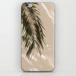 tropical palm leaves vi iPhone Skin
