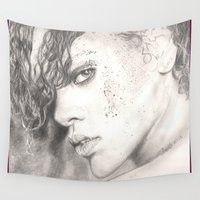 rihanna Wall Tapestries featuring rihanna... by als3