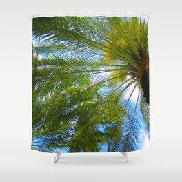 Dreamy Palms of Hawaii Shower Curtain