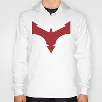 nightwing Hoodies featuring Nightwing 52 by Sdog1982
