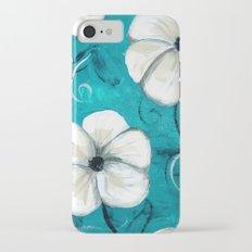 Flowers in Oil iPhone 7 Slim Case