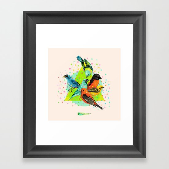 Colour Party III Framed Art Print