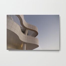 LOW ANGLE PHOTOGRAPHY OF STOREY HOUSE Metal Print