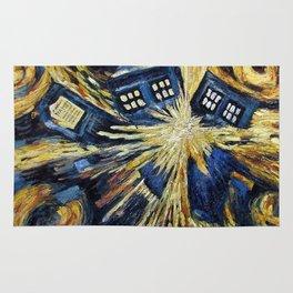 TARDIS EXPLODES Rug