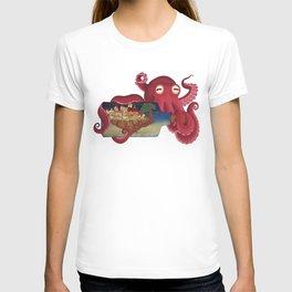 World in bottle: Atalantis (Octopus - monster) T-shirt