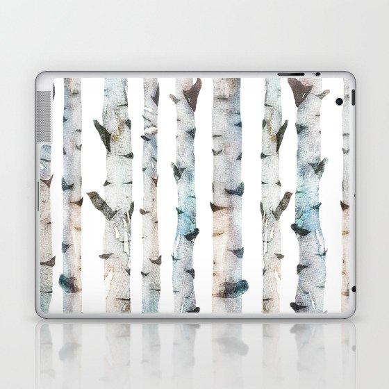 Birch Tree Laptop & iPad Skin
