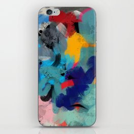 Abstract Expressionism Art Colourful Pattern iPhone Skin