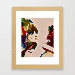 Dyed Framed Art Print