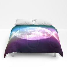 Moon Phases Triple Goddess Rainbow Comforters