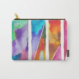 180811 Watercolor Block Swatches 3 | Colorful Abstract |Geometrical Art Carry-All Pouch