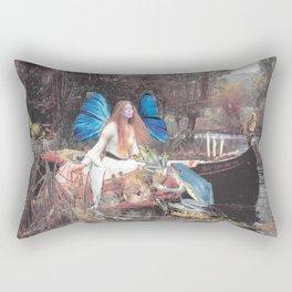 Faerie Ferry Rectangular Pillow