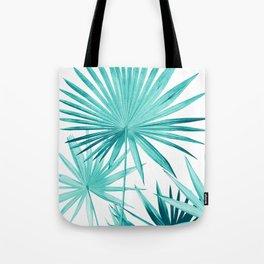 Fan Palm Leaves Jungle #3 #tropical #decor #art #society6 Tote Bag