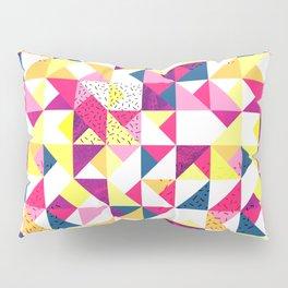 Bright Geometric Revive Funky Pillow Sham